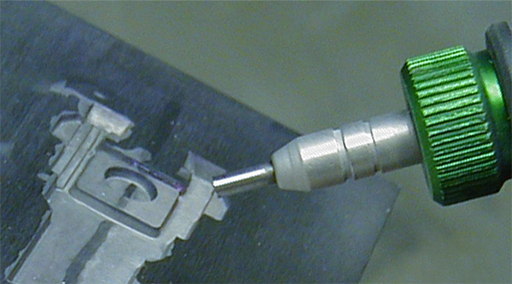 Texturing injection molds