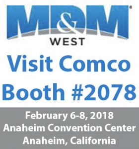 MD&M West 2018, Comco Booth #2078