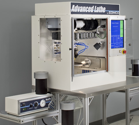 Comco Advanced Lathe LA3250 Automated MicroBlasting System