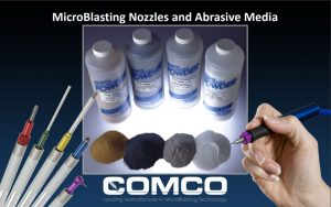 Comco Nozzle and Powder Guide