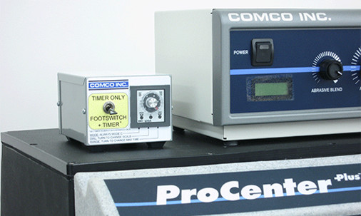 Blast Timer for Comco MicroBlasting systems