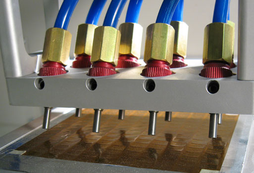 Surface texturing: load cells with automated MicroBlasting system