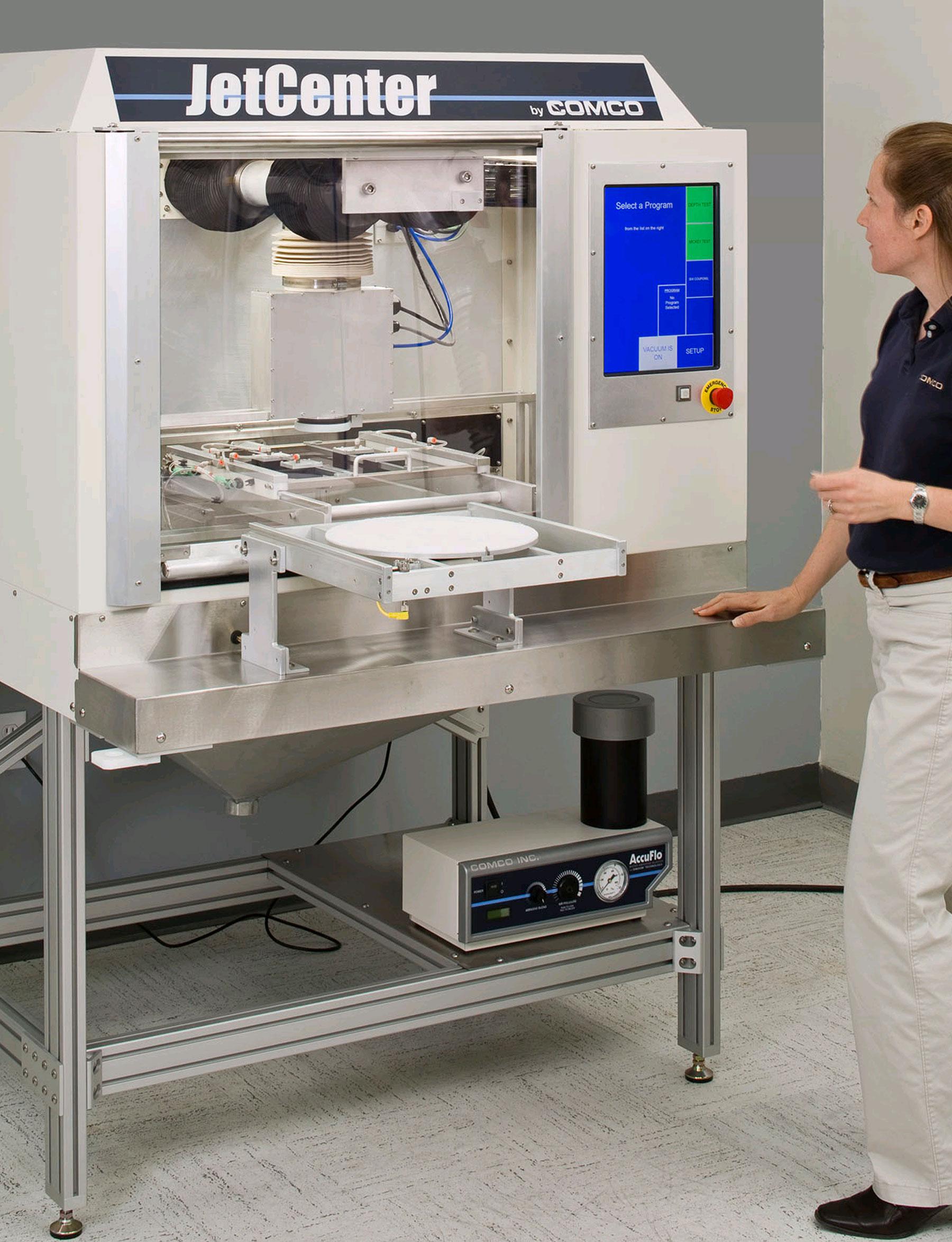 Comco JetCenter LA4250 Automated MicroBlasting System