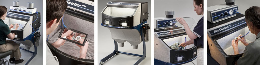 AccuFlo and ProCenter Plus : the manual MicroBlasting System