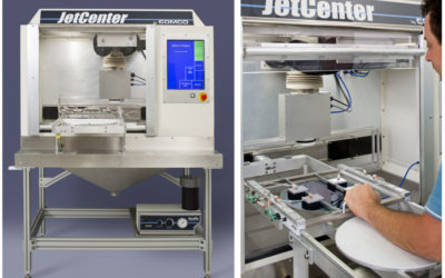 Comco LA4250 JetCenter Automated MicroBlasting System