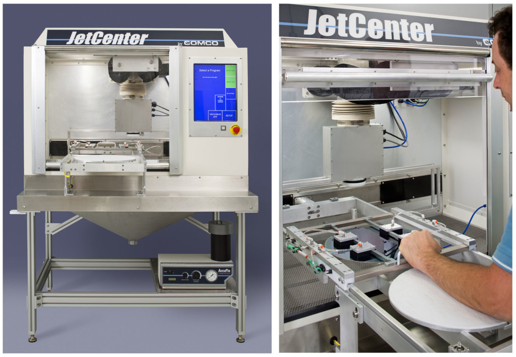 Comco JetCenter Automated MicroBlasting System