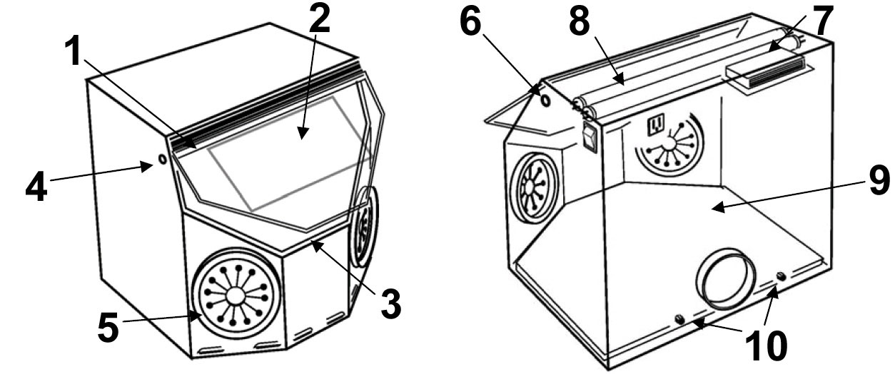 ClearView WS6000 replacement parts diagram