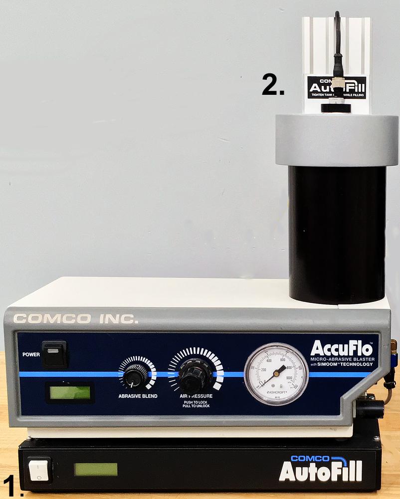 AutoFill Control Box and Tank Cover