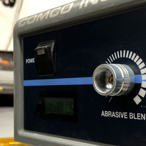 Reduce variation between operators with Calibration Cap on Abrasive Blend Knob
