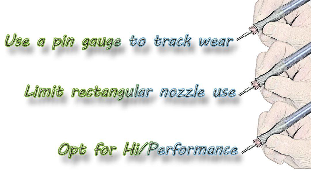 3 Nozzle Tips!